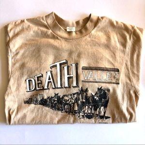 VTG 80s Death Valley Wagon Long-sleeve Tee USA